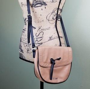 Nine West Bags - 3/$25 Nine West Small Crossbody Satchel Bag Tan